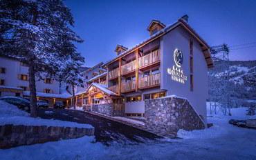 阿尔卑斯山(法国)酒店公寓住宿:乐大艾格勒水疗度假村