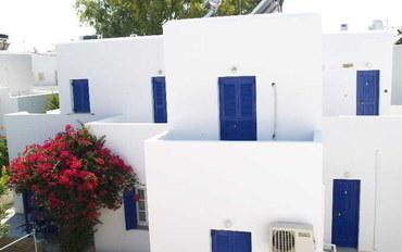 帕罗斯百门圣母教堂附近酒店公寓住宿:丹米尔斯村庄度假村
