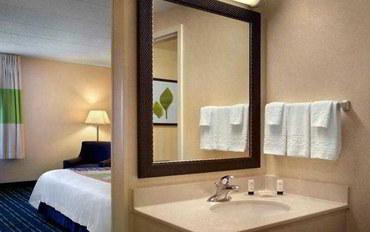 波士顿酒店公寓住宿:万豪费尔菲尔德波士顿沃本/伯灵顿套房