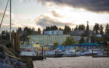 温哥华岛酒店公寓住宿:海岸发现者码头公寓