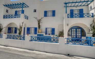 圣托里尼岛圣托里尼水上公园附近酒店公寓住宿:梅斯特里别墅