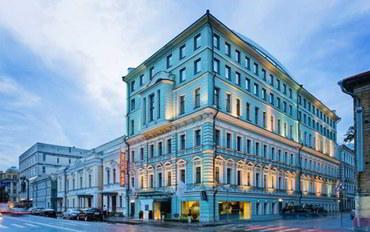 莫斯科酒店公寓住宿:金苹果精品酒店