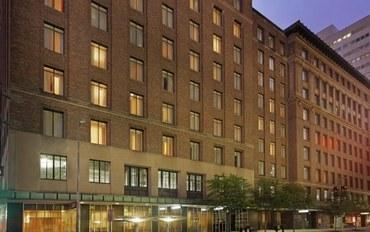 休斯顿酒店公寓住宿:休斯顿市中心会议中心公寓