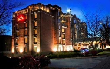 纳什维尔酒店公寓住宿:纳什维尔青山汉普顿休闲套房