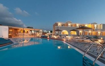 圣托里尼岛白沙滩附近酒店公寓住宿:卡尔德拉海豚套房