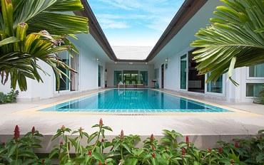 芭提雅酒店公寓住宿:位于Banglamung的三卧室豪华泳池别墅