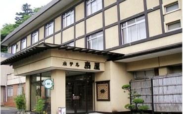 宫城酒店公寓住宿:包租露天风吕之宿 扇屋