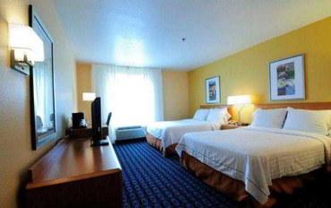费耶特维尔(阿肯色州)酒店公寓住宿:斯普林戴尔费尔菲尔德套房