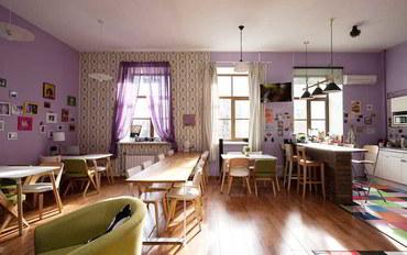 圣彼得堡酒店公寓住宿:芭比柠檬水旅馆