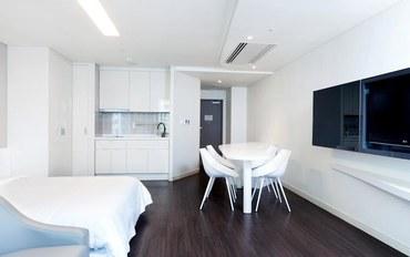 釜山酒店公寓住宿:海云台韩华度假公寓