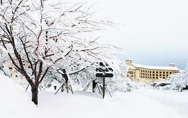 束草酒店公寓住宿:雪岳山索拉诺韩华度假村