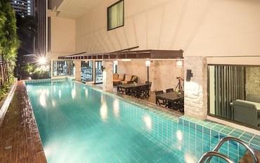 曼谷酒店公寓住宿:曼谷亚斯本套房公寓