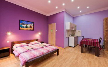 克拉科夫酒店公寓住宿:皇后公寓
