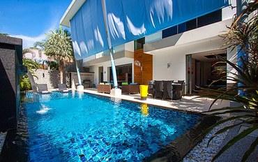 普吉岛酒店公寓住宿:三卧室泳池普吉岛度假屋