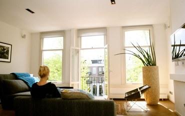 阿姆斯特丹酒店公寓住宿:豪华运河公寓,尽享屋顶露台全景,位于阿姆斯特丹市中心