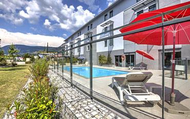 格勒诺布尔酒店公寓住宿:格勒诺布尔诺瓦莱优雅公园套房