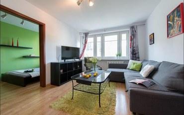 华沙酒店公寓住宿:艾米利亚普莱特P&O公寓