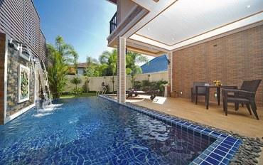 普吉岛酒店公寓住宿:班涛Tara别墅4-三卧-精致的花园、私人泳池、山景及镇景