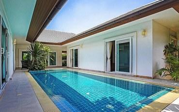 芭提雅酒店公寓住宿:阳光泳池三卧室海滨别墅度假村