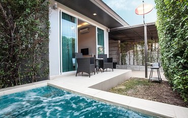 芭提雅酒店公寓住宿:两室泳池别墅,芭提雅中天