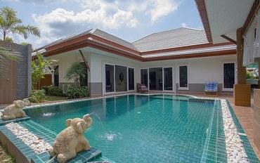 芭提雅酒店公寓住宿:芭提雅邦萨勒海滩-温特丝三卧室私人泳池豪华别墅