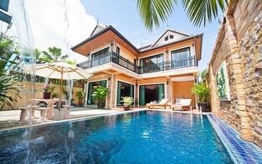 普吉岛酒店公寓住宿:班涛Tara 别墅2 –三卧室-靠近班涛海滩,带私密的私家泳池