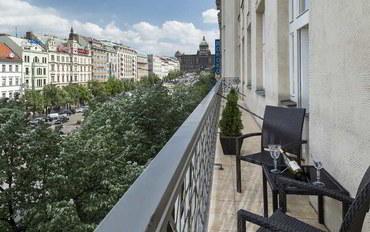 布拉格酒店公寓住宿:瓦茨拉夫广场公寓