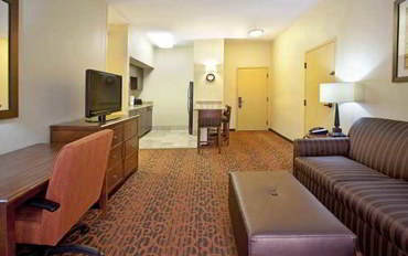 艾尔帕索酒店公寓住宿:艾尔帕索机场汉普顿套房