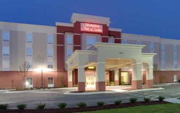 杰克逊维尔(北卡罗莱纳州)酒店公寓住宿:杰克逊维尔汉普顿.NC