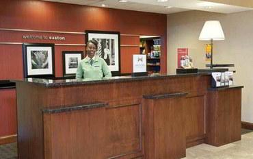 哥伦布(俄亥俄州)酒店公寓住宿:哥伦布伊斯顿区汉普顿套房旅馆
