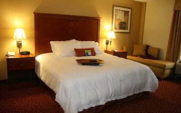 拉斐特(路易斯安那州)酒店公寓住宿:詹宁斯汉普顿套房