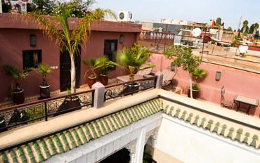 马拉喀什酒店公寓住宿:利雅得拉卡波比庭院旅馆
