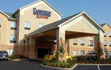 拉斐特(路易斯安那州)酒店公寓住宿:拉斐特南部万豪费尔菲尔德套房