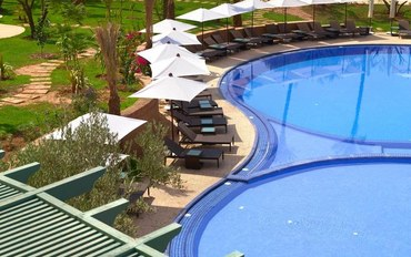 马拉喀什酒店公寓住宿:棕榈村庄别墅
