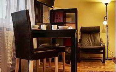 华沙酒店公寓住宿:西耶娜P&O公寓