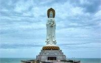 三亚南山海上观音介绍 2013南山海上观音图片