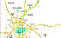 从化温泉地图 从化温泉旅游地图