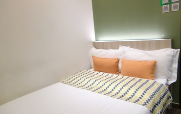香港酒店公寓住宿:香港1+1精品酒店大床房