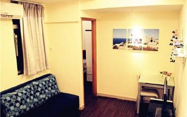 香港酒店公寓住宿:爱琴海K公寓 特价旺角两房一厅6人