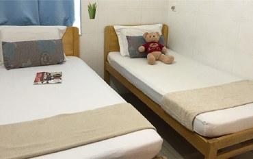 香港酒店公寓住宿:香港旺角天天宾馆标准双人房