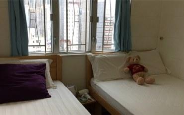 香港酒店公寓住宿:香港旺角天天宾馆家庭三人房