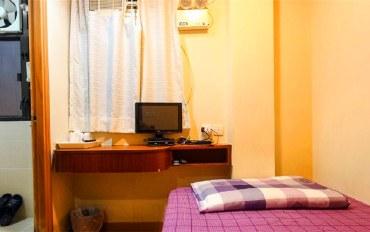 香港酒店公寓住宿:香港中华同乡会宾馆大床房