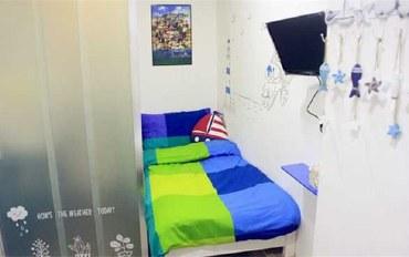 香港酒店公寓住宿:香港尖沙咀森之旅舍三人房