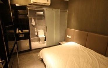 香港酒店公寓住宿:上栈精品油麻地店豪华无窗大床房