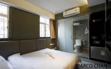 香港酒店公寓住宿:上栈精品酒店油麻地店豪华大床房