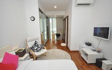 新加坡酒店公寓住宿:景万岸地铁站1号温馨家庭式别墅豪华套房