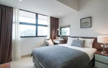新加坡酒店公寓住宿:景万岸地铁站2号现代别墅豪华服务07套房