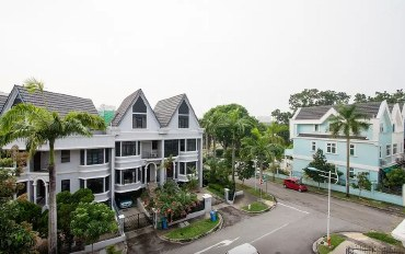 新加坡酒店公寓住宿:景万岸地铁站1号温馨别墅大床间可加床