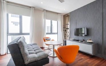 新加坡酒店公寓住宿:景万岸地铁站3号泳池别墅03套房