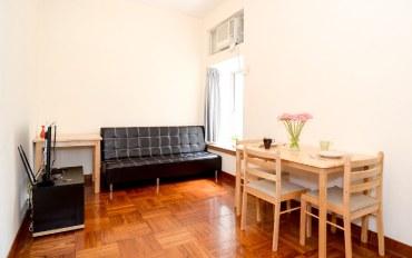 香港酒店公寓住宿:佐敦廟街夜市两房一厅舒适公寓